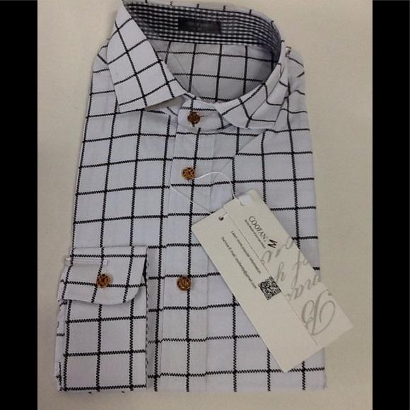 Coofandy Men/'s Fashion Long Sleeve Plaid Shirt Casual Check Shirts